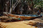 סירה על נהר המקונג