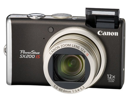 CANON-POWERSHOT SX200 IS