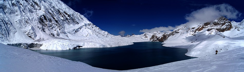 Tilicho Lake- Panorama | ��� �����'� ���� ��� ������ �������� ��� ����